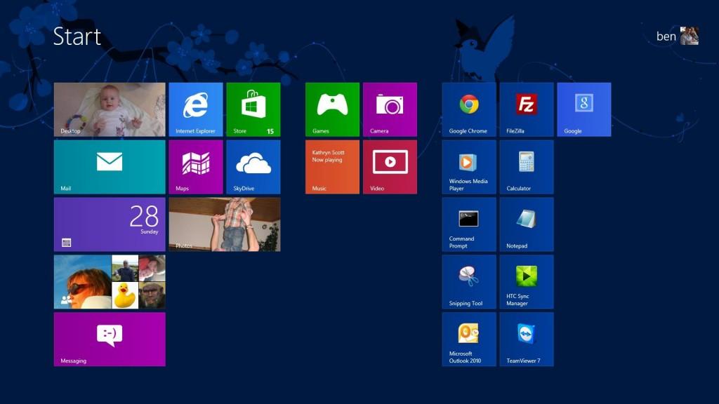 Windows 8 - Here we come