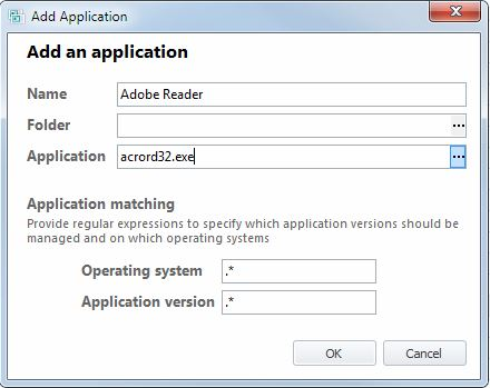 Personalize Adobe Reader with AppSense
