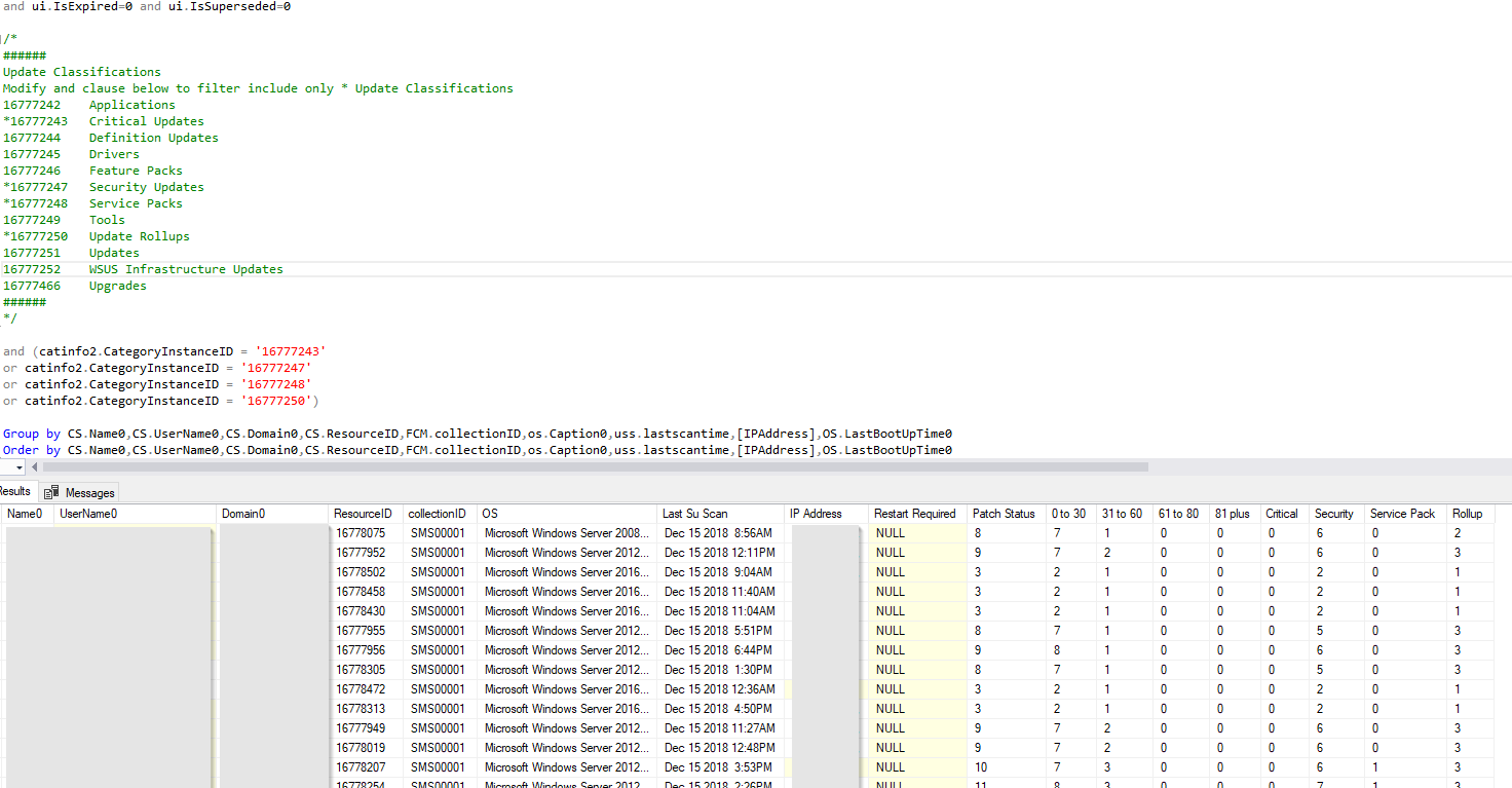 Sccm Query Last Software Update Scan Date