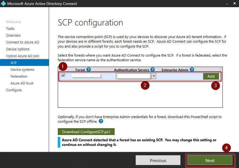 Windows 10 - Hybrid Azure Active Directory Join for