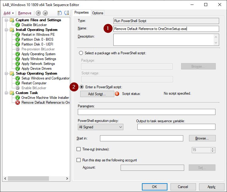 Installing the OneDrive Sync Client in